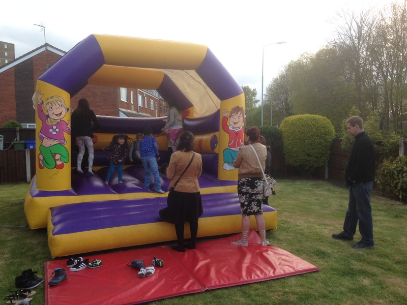 Anns Bouncy Castle @ May Day Pegasus